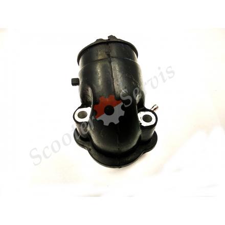 Впускний патрубок, колектор, для скутерів ARN-125/150, Keeway, Ківей, Гепард -125/150, QJ 125T-4A, тип двигуна QJ153QMI-3, QJ158QMJ
