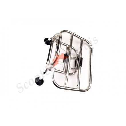 Передній складаний багажник з нержавіючої сталі ретро скутера Vespa