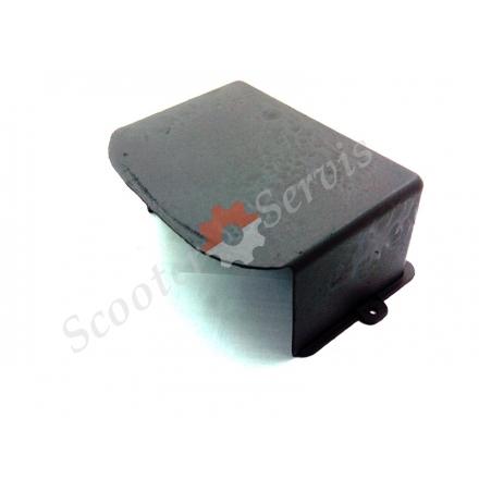 Крышка аккумуляторной батареи на ретро скутер Трува, Truva. G-max, Joker