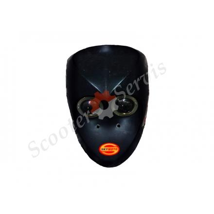Передній обтічник пластик Spider 50, Спайдер 50 (Skymoto) Б / у
