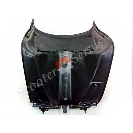 Пластик Хонда Дио, Honda Dio, AF-27, AF-28 передний под рулем и часть полика, с карманом