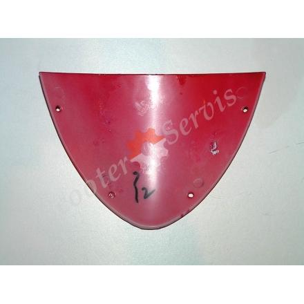 Вітровий спойлер (козирок) на пластик голови скутера, тип Шторм, Storm
