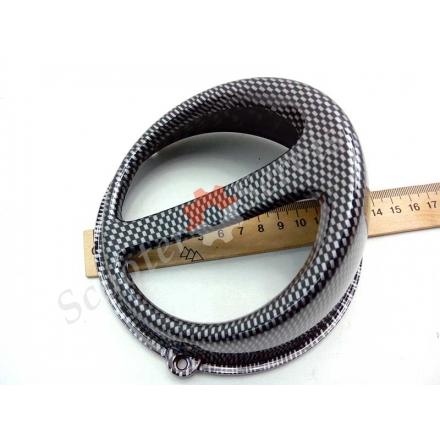 Воздухозаборник, дополнительный обдув двигателя GY6 125-150 кубов