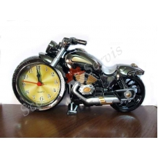 """Часы будильник мотоцикл """" Чоппер"""""""