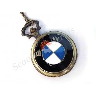 """Годинники кишенькові логотип """"BMW"""" БМВ, кольорова емаль"""