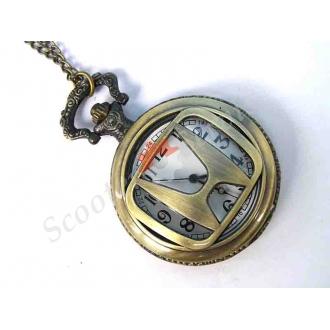 "Годинники кишенькові логотип ""Honda"" (Хонда), бронза"
