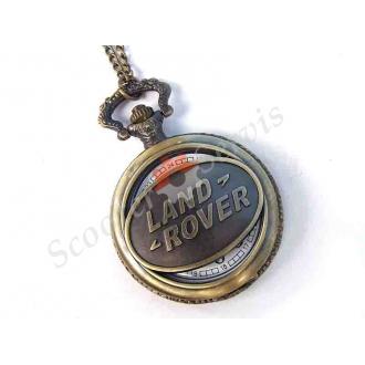 "Годинники кишенькові, логотип ""Land Rover"" (Ленд Ровер), бронза"