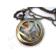 "Годинники кишенькові логотип ""Volkswagen"" (Фольксваген), бронза"