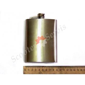 Фляга з нержавіючої сталі, ємність 240 мл.