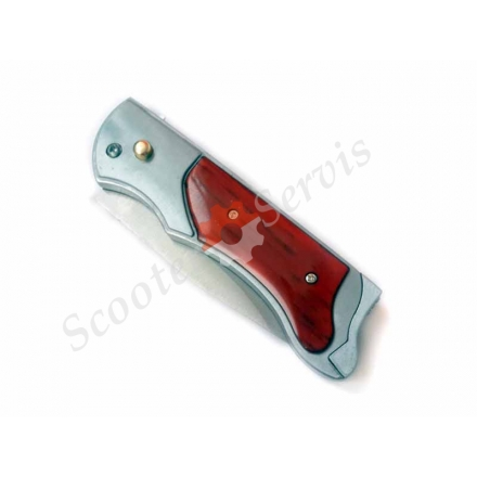 Нож выкидной с зажигалкой