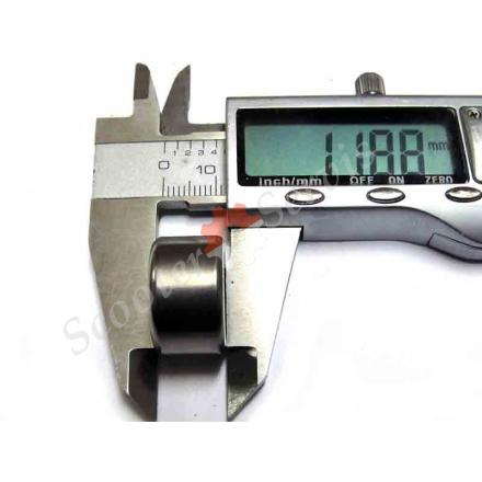 Підшипник голчастий редуктора діаметр 20-22 мм, двигуна CF 125/150, Хонда Спейсі 125, CH 125/150, скутера 14-16 дюймів колесо