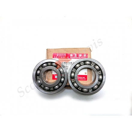 Підшипники клонували двигуна AN125, AN150 Сузукі Векстар, Suzuki Vecstar 125- 150cc