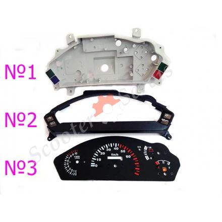 Приладова панель (частини пластикові) тип Viper Victory, Вайпер Вікторі, Вайпер F-1, F-50, Ф1, Ф50