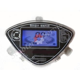 Приладова панель електронна для скутера Yamaha JOG (05-17 Г.В)