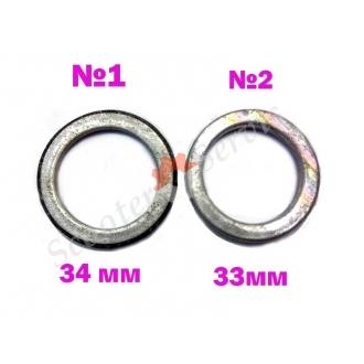 Прокладка глушителя диаметр 33мм, 34мм