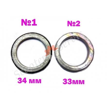 Прокладка глушника діаметр 33мм, 34мм
