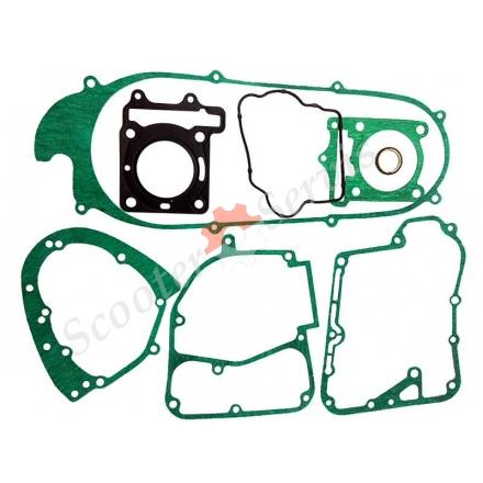 Прокладки (повний набір) двигуна Kymco 125/150, Кімко, водяне охолодження