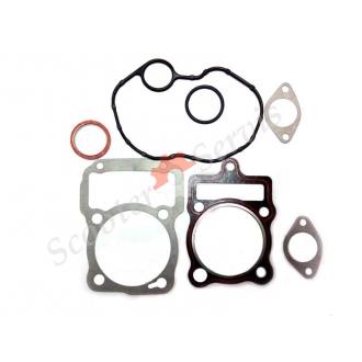 Прокладки ЦПГ для мотоцикла, трицикла, двигуна 250 кубів тип Зубр 250, CG 250 (середній набір)
