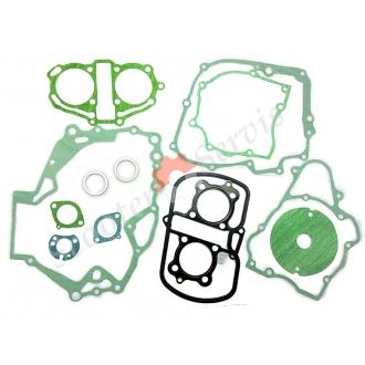 Прокладки, полный набор, на мотоцикл, Honda Rebel 250 куб., Хонда CA250, Honda CA250, двух поршневой двигатель тип 253FMM