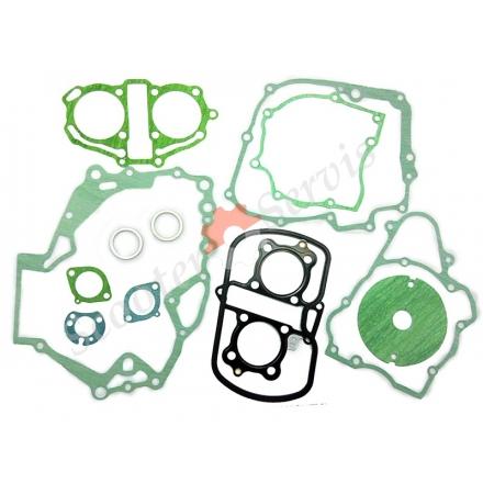 Прокладки, повний набір, на мотоцикл, Honda Rebel 250 куб., Хонда CA250, Honda CA250, двох поршневий двигун тип 253FMM