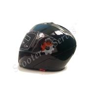 Шлем интеграл, трансформер Jiekai с очками, визор анти-царапины, анти-фог(Anti-fog)