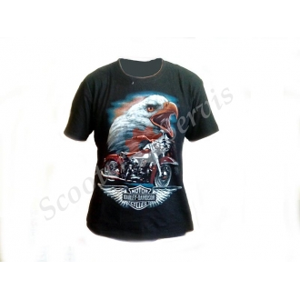 Футболка мотоциклетная, Харлей-Девидсон, Harley-davidson, 100% хлопок