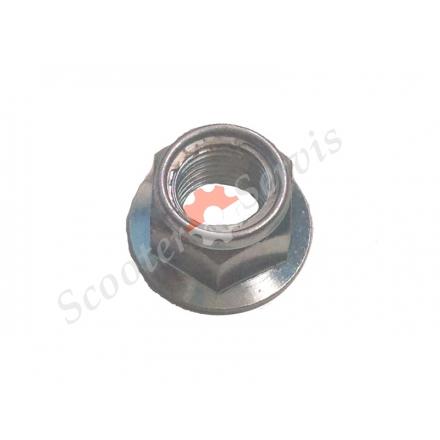 Гайка М14-1.25 заднего колеса Хонда, переднего колеса, оси и др. (диаметр резьбы 14мм, шаг резьбы 1.25)