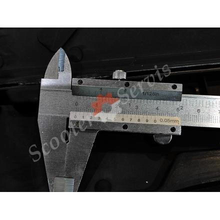 Штангенциркуль 150мм, шкала ноніуса 0,05 і дюймова 1 / 128in, глибиномір