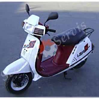 Разборка скутера Хонда Лиад СС, Honda Lead SS, рама AF10, тип AF01