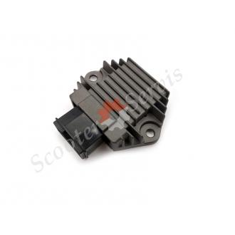 Регулятор напряжения, реле зарядки скутера Honda SH125,...