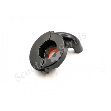 Будиночок ручки газу, кріплення короткоходной вставки для ендуро мотоцикла, прямий вхід троса газу