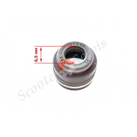 Сальники клапанів Yamaha, YBR250, JYM250, ATV HS 400-700cc на клапан діаметр штока 6,5мм