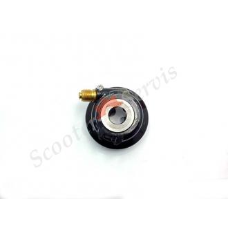 Привод спидометра в колесо, левосторонний, на мотоциклы с передним дисковым тормозом, тип Yamaha SRZ 150 и его клоны