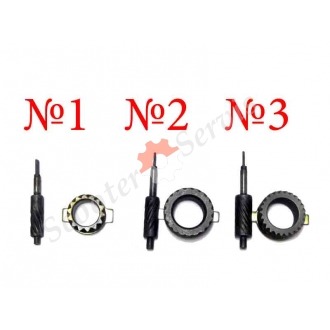 Шестерни привода спидометра для скутера, скутеретты, мотоцикла