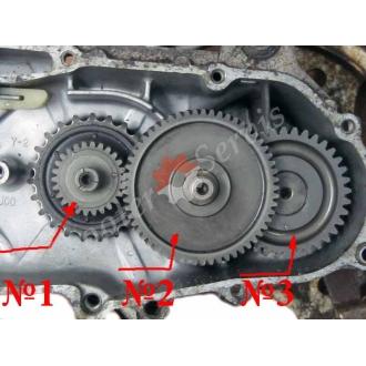 Шестерні редуктора двигуна Ямаха Мінт, Yamaha Mint