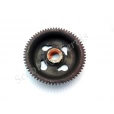 Заводная шестерня стартерного механизма (на коленвал) двигатель HF05, Honda Lead 90, Хонда Лиад