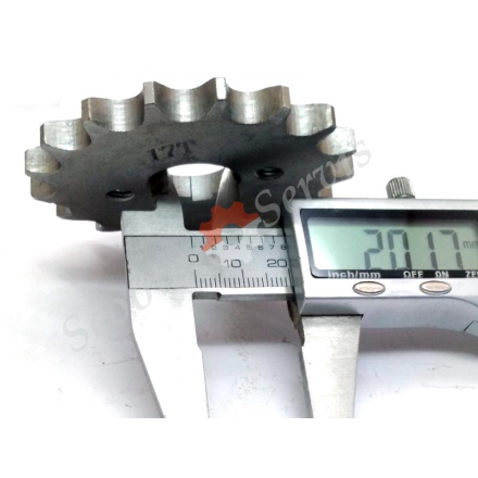 Звездочка ведущая мотоцикла Зонгшен, Zongshen F5 200 / 250 кубов 15 зубов, 16 зубов, 17 зубов, для цепи 428