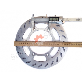 Диск тормозной, для мотоцикла Ямаха, Yamaha TTR250, TT250R, DT200, DT230, WR200, диаметр 217мм, 245 мм