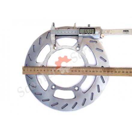 Диск гальмівний, для мотоцикла Ямаха, Yamaha TTR250, TT250R, DT200, DT230, WR200, діаметр 217мм, 245 мм