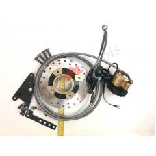 Гидравлическая тормозная система заднего тормоза