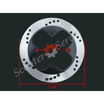 Задний тормозной диск Honda VFR/RVF400, NSR250