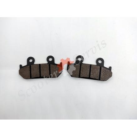 Гальмівні колодки передні Honda CBR250, NSR250, CBR400, CBR600, VFR400