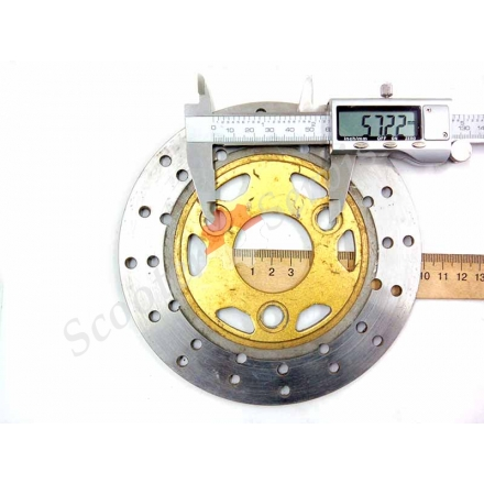 Гальмівний диск 15,5 см тип Вайпер Вінд, Viper Wind