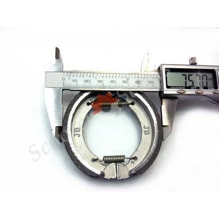 Тормозные колодки (барабан), старые японские скутера 2т 50сс, диск 8 дюймов, 10 дюймов