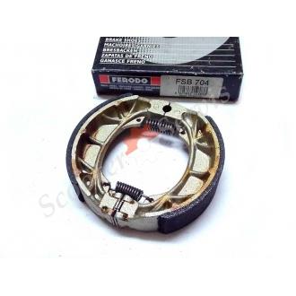 Тормозные колодки барабанного тормоза FERODO FSB704 110х25
