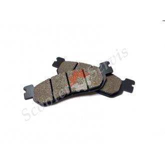 Тормозные колодки дискового заднего тормоза Honda Spacy 250, CH250, KAB250, Tornado 250