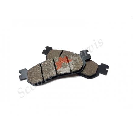 Гальмівні колодки дискового заднього гальма Honda Spacy 250, CH250, KAB250, Tornado 250