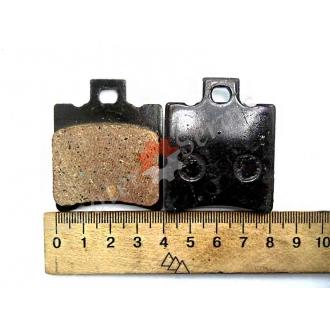 Тормозные колодки дисковый тормоз, передние, Ямаха Джог, Yamaha Jog