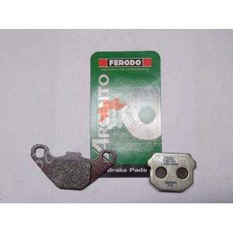 Тормозные колодки гидравлического тормоза FERODO FDB313AG