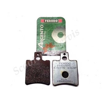 Тормозные колодки гидравлического тормоза FERODO FDB889AG 40х55х3,5